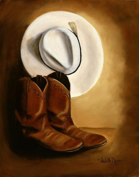 18B: JUDITH DURR - HIS BOOTS AND HAT