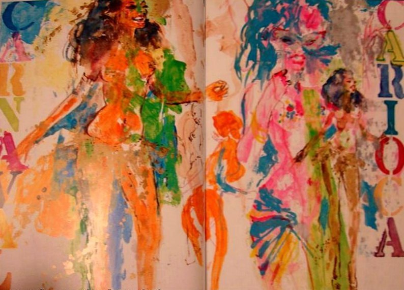 "400X: LEROY NEIMAN L.E HAND SIGNED AND # ""CARNAVAL"""