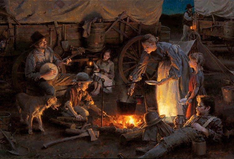 13W: Morgan Weistling - Oregon Trail Family, 1848