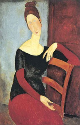 AMADEO MODIGLIANI THE ARTISTS WIFE: 1918 LIMITED ED