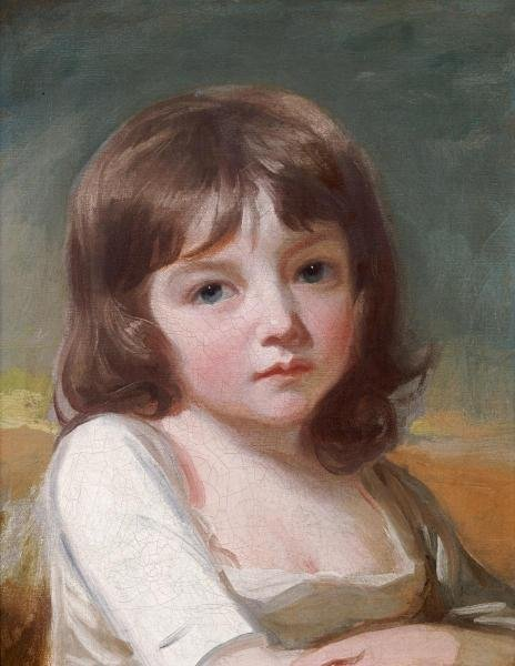 9B: GEORGE ROMNEY - PORTRAIT OF A GIRL