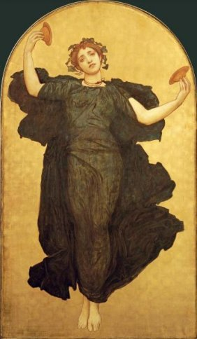 LORD FREDERICK LEIGHTON - THE DANCE OF THE CYMBALI