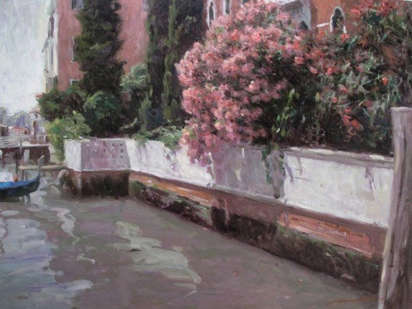 17S: LEONARD WREN CANALS OF VENICE HAND SIGNED LIMITED