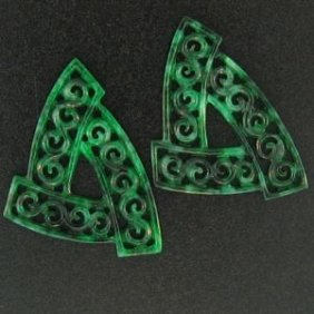 NATURAL GREEN JADE LOOSE
