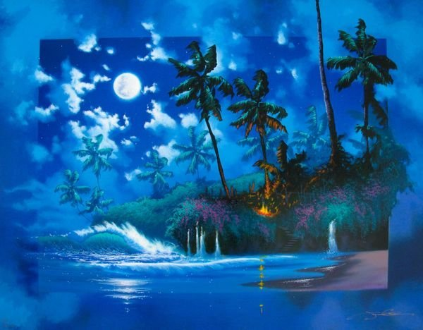 4S: JAMES COLEMAN FULL MOON HAND SIGNED LIMITED ED GICL