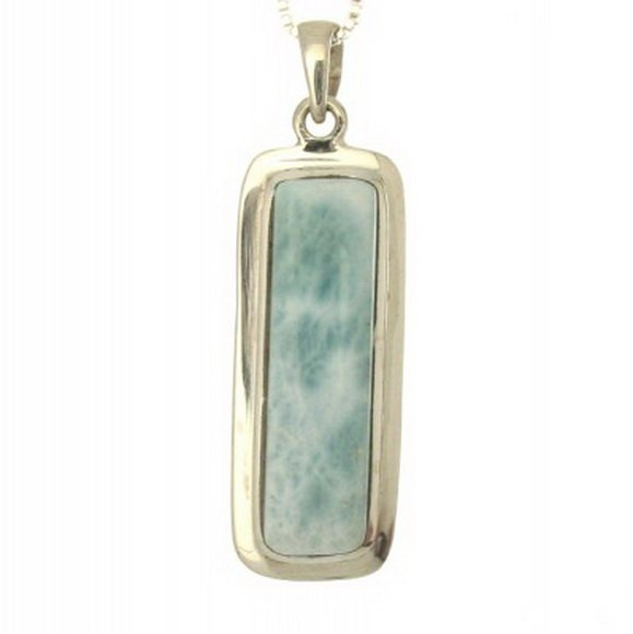 9F: RECTANGULAR  LARIMAR