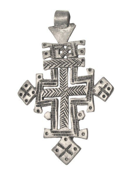 20F: FRAMED COPTIC CROSS