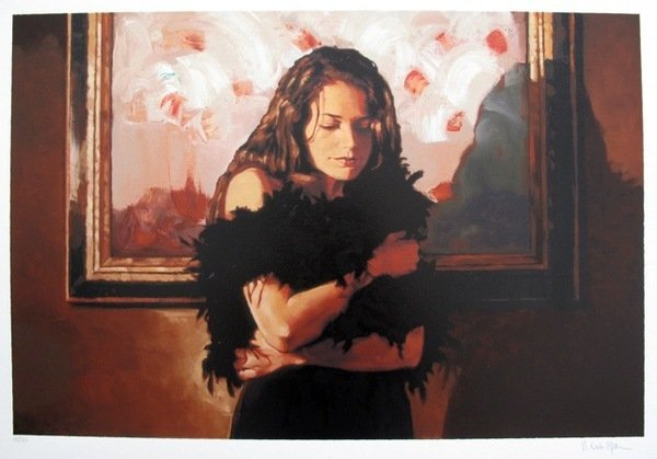 7T: MARK SPAIN THE BLACK DRESS HAND SIGNED LIMITED ED.