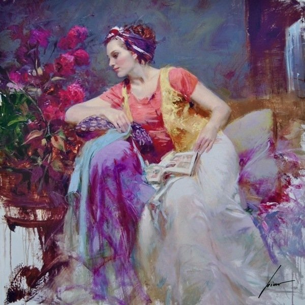 805T: PINO SERENDIPITY HAND SIGNED LIMITED ED. GICLEE O