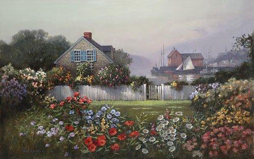 10W: A Sailor´s Garden - by Paul Landry