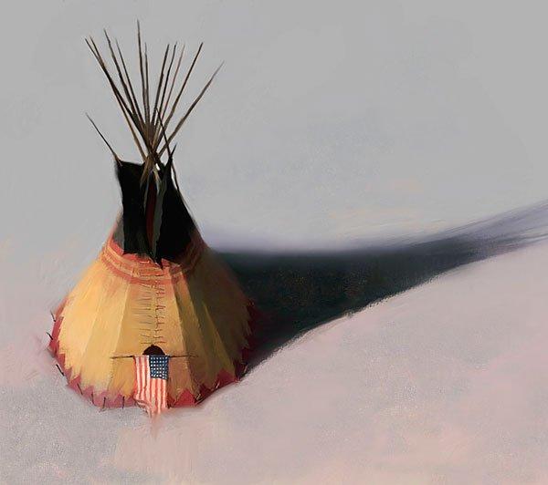 19W: Teebow Tipi - by R. Tom Gilleon