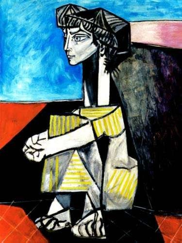 20T: #11 PORTRAIT OF JACQUELINE ROQUE PICASSO ESTATE SI