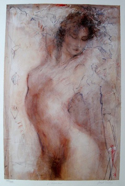 6T: JANET TREBY L'AMOUR HAND SIGNED LIMITED ED. SERIGRA