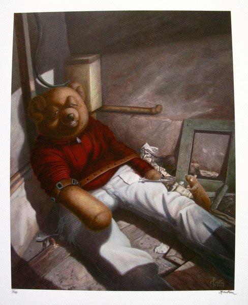 14T: PRESTON CRAIG DRUG ADDICT TEDDY LIMITED ED. HAND S