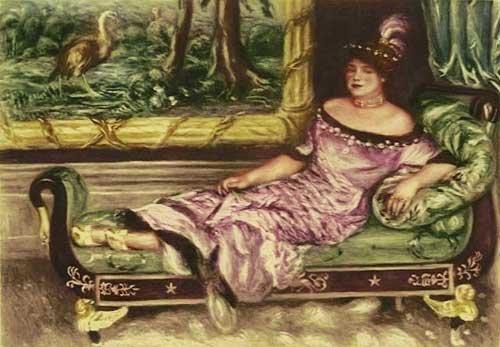 19T: PIERRE-AUGUSTE RENOIR PORTRAIT DE MME. DE GALEA AM