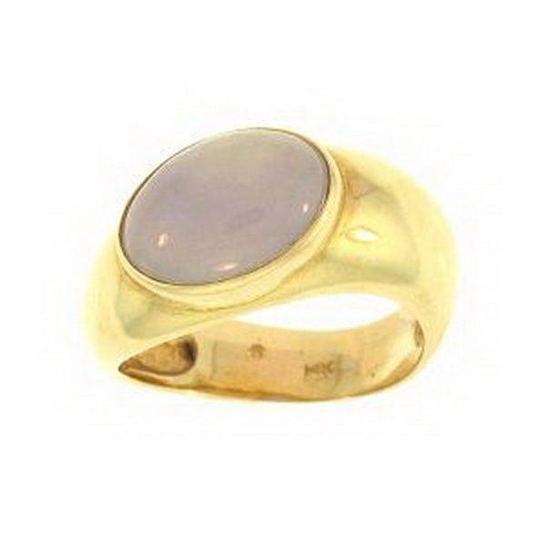 Natural Lavender Jade Ring