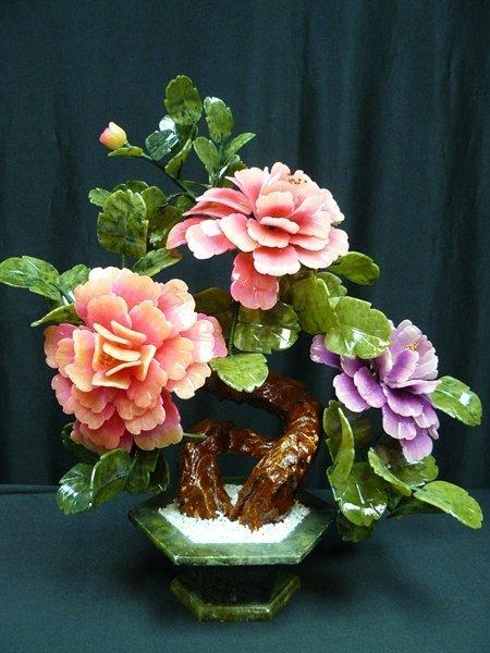 MIXED JADE BONSAI FLOWERS