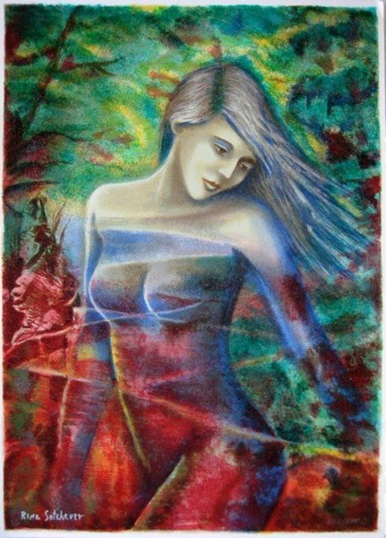 RINA SUTZKEVER CAPTIVATING BEAUTY HAND SIGNED LIMITED E