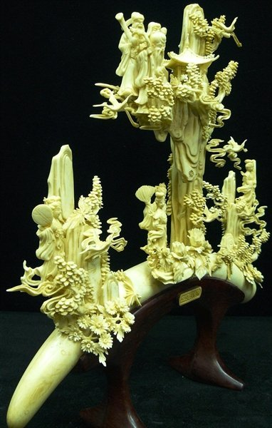 ANTIQUE BONE FAIRIES MOUNTAIN - 6