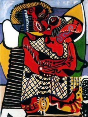 #53 THE EMBRACE PICASSO ESTATE SIGNED GICLÉE