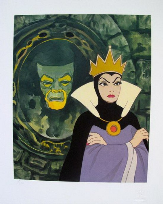 Snow white mirror mirror on the wall limited disney snow white mirror mirror on the wall limited e amipublicfo Choice Image