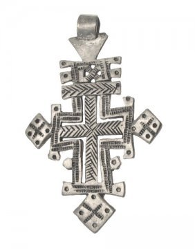 FRAMED COPTIC CROSS