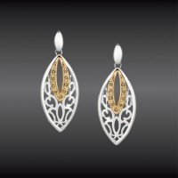 NATURAL COLORED DIAMOND EARRINGS