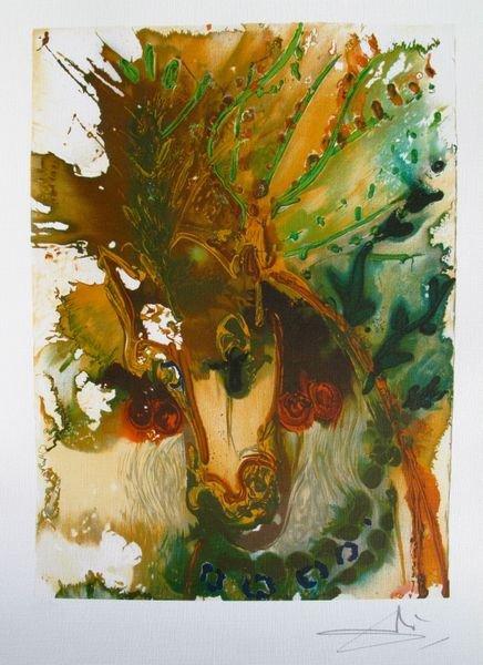 Salvador Dali Dalinean Horse BUCEPHALE Limited Ed. Lith