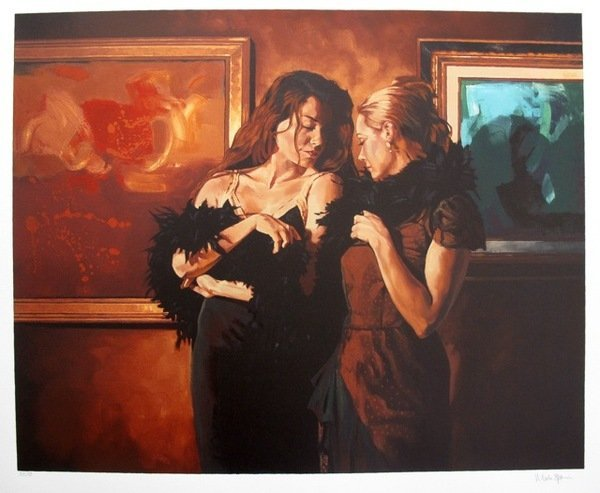 MARK SPAIN THE CONVERSATION HAND SIGNED LIMITED ED. SER