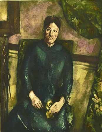 Paul Cezanne MME. CEZANNE AU FOUTEUIL JUANE Ambroise Vo