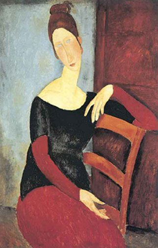 Amadeo Modigliani THE ARTIST'S WIFE: 1918 Limited Ed. L