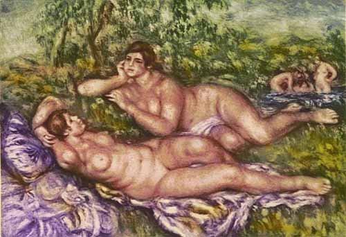 Pierre-Auguste Renoir LE REPOS APRES LE BAIN Ambroise V