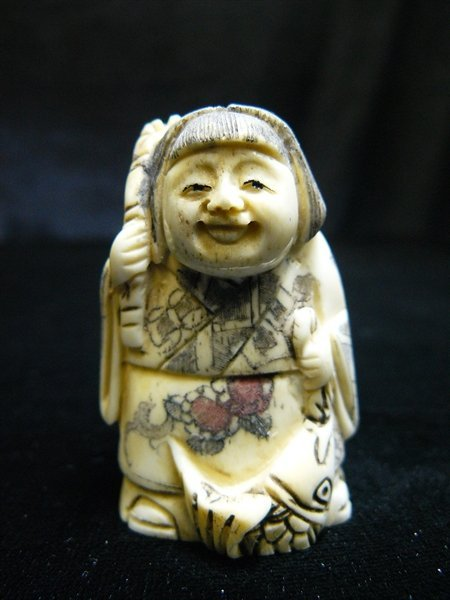 ANTIQUE BONE NETSUKE