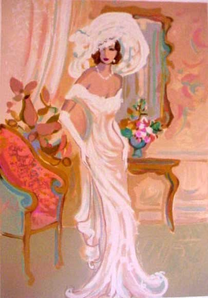 ISAAC MAIMON CAMILLE LIMITED ED. HAND SIGNED SERIGRAPH