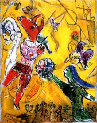 Marc Chagall THE DANCE & THE CIRCUS Limited Ed. Giclée