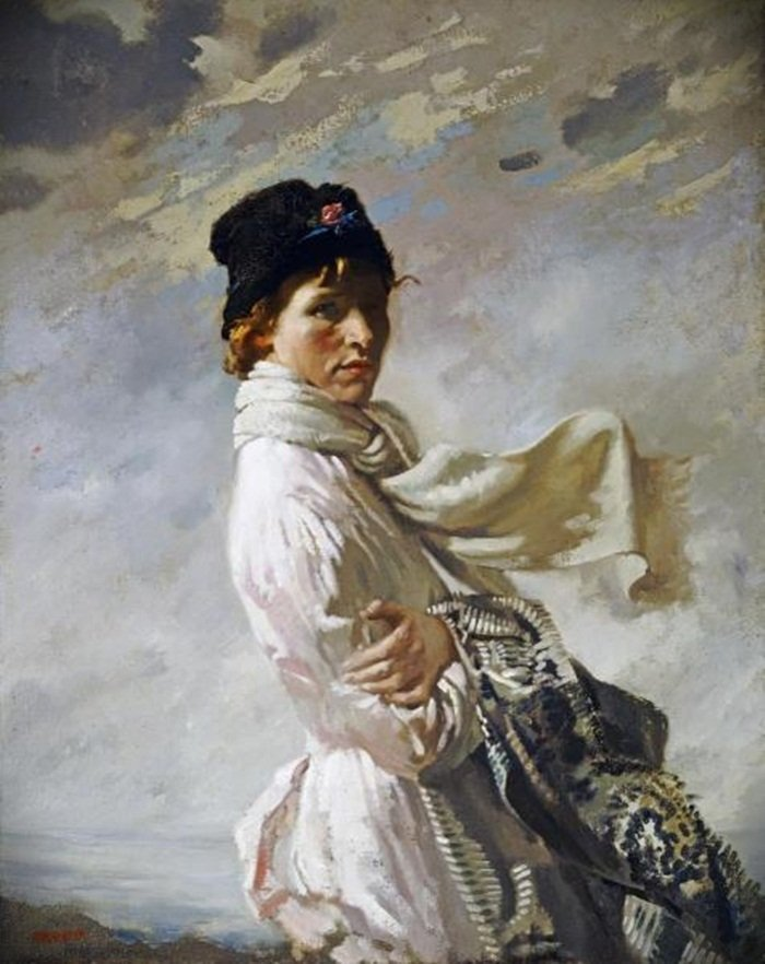 SIR WILLIAM ORPEN - IN DUBLIN BAY