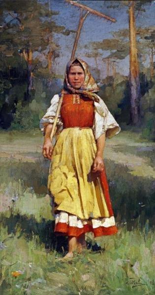 IVAN LAVRENTIEVITCH GOROKHOFF - THE VILLAGE GIRL