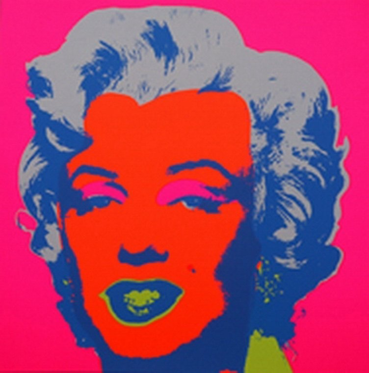 ANDY WARHOL  MARILYN MONROE  SUNDAY B. MORNING