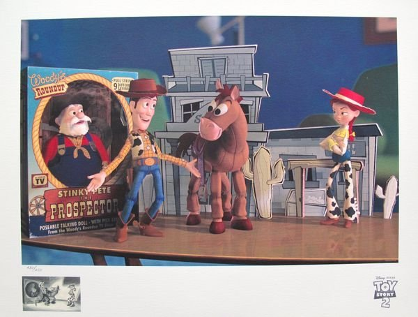 """DISNEY TOY STORY 2 """"WOODY'S FINEST HOUR"""" LIMITED ED."""