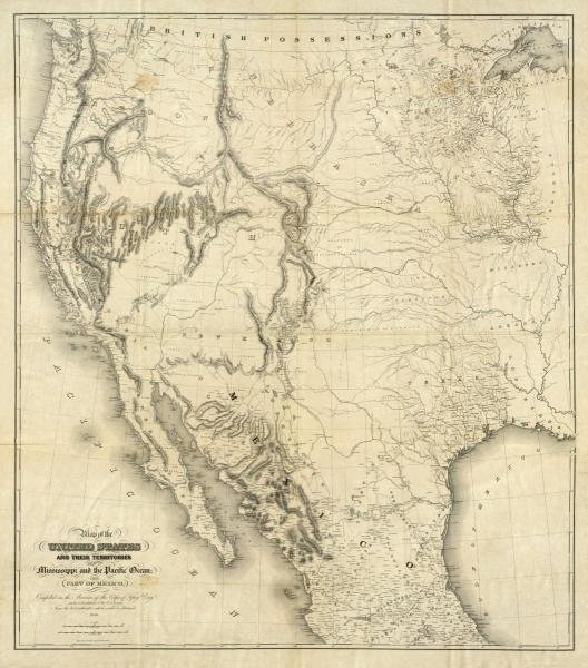 UNITED STATES WAR DEPARTMENT - MAP OF THE UNITED