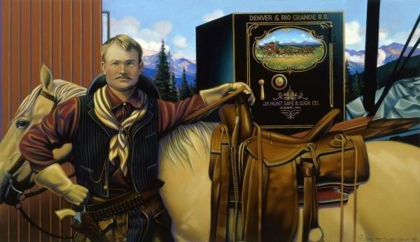 GREGORY TRUETT SMITH - BUTCH CASSIDY - Giclée on Canvas