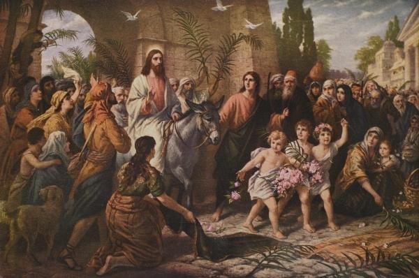 B. PLOCKHORST - CHRIST ENTERING JERUSALEM - Giclée on