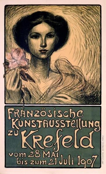 THEOPHILE STEINLEN - FRANZöSISCHE KUNSTAUSSTELLUNG ZU