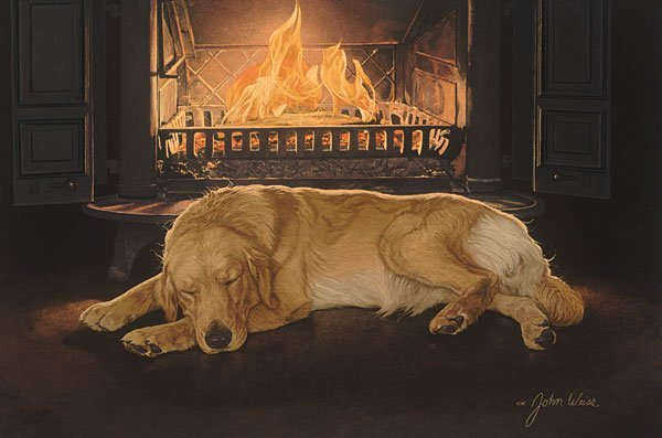 JOHN WEISS - A FEELING OF WARMTH - HAND SIGNED