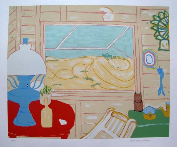 MARION MCCLANAHAN DUNE SHACK HAND SIGNED LIMITED ED.