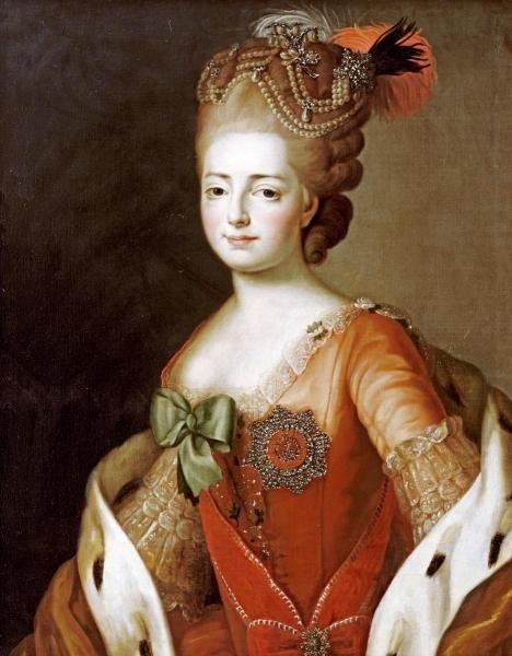 ALEXANDER ROSLIN - PORTRAIT OF MARIA FEDOROVNA - Giclée