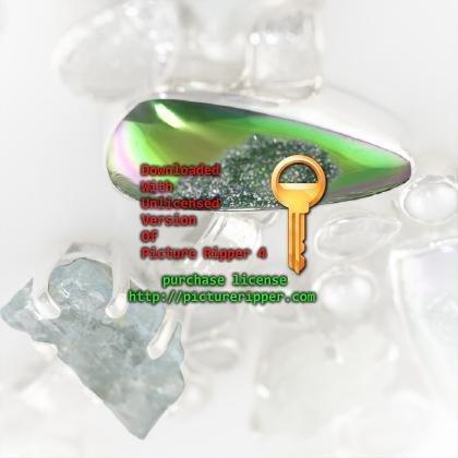 Aquamarine, Quartz and Drusy Pendant and Bracelet Set,