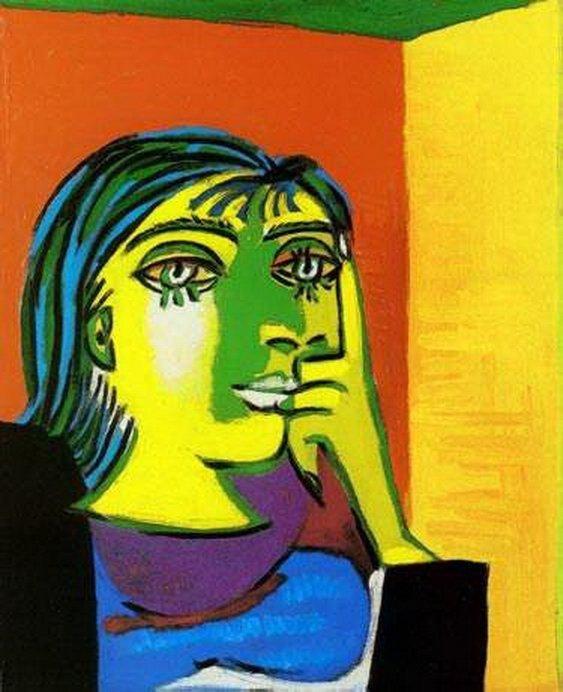 #78 PORTRAIT OF DORA MAAR PICASSO ESTATE SIGNED GICLÉE
