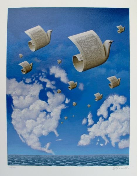 RAFAL OLBINSKI LETTERS TO EUROPE HAND SIGNED LIMITED