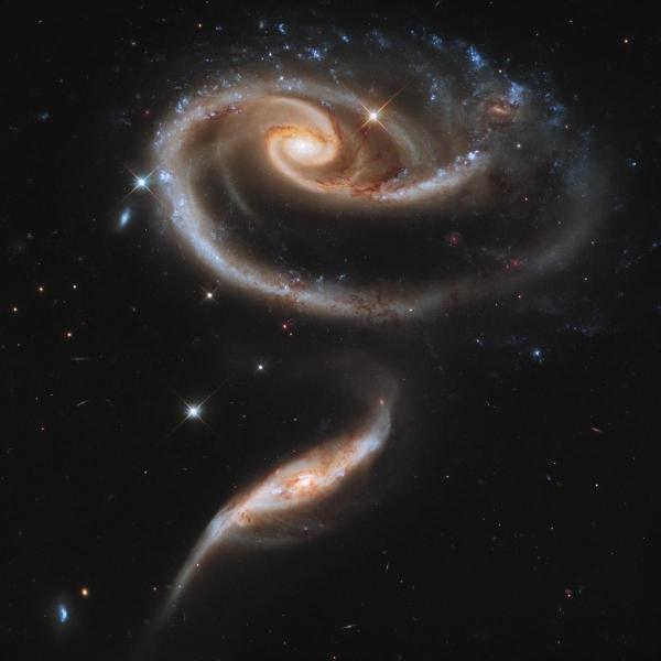 NASA - INTERACTING GALAXIES - Giclée on Canvas